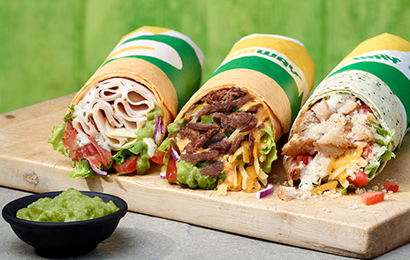 New Signature Loaded Wraps at Subway