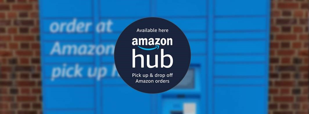 Amazon Hub now at Lisnagelvin